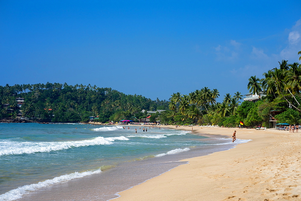 Mirissa Beach on the south coast of Sri Lanka, Asia