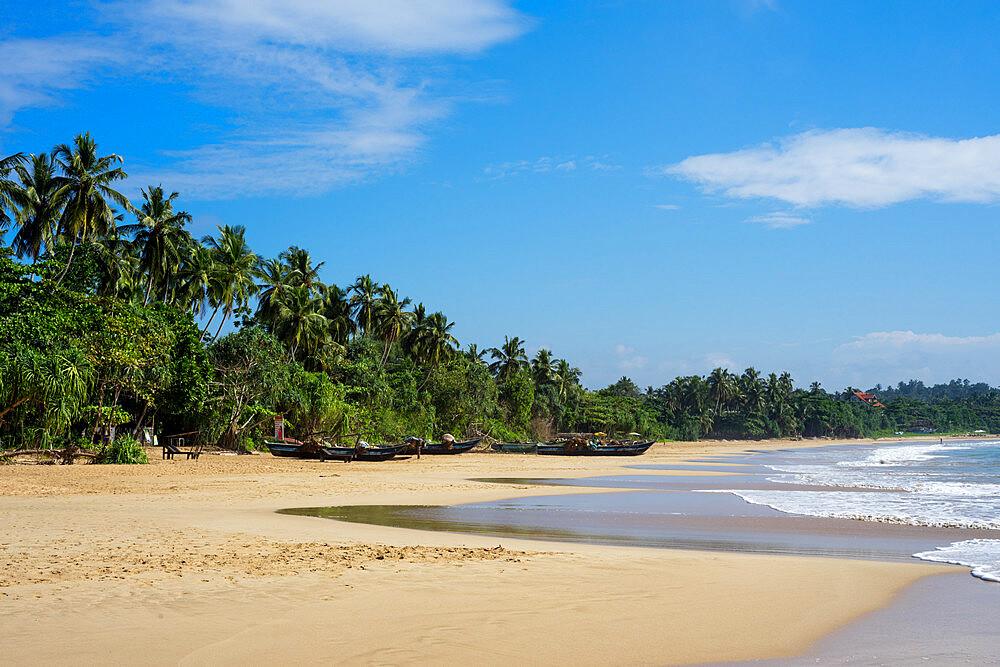 Talalla Beach on the south coast of Sri Lanka, Asia - 851-677