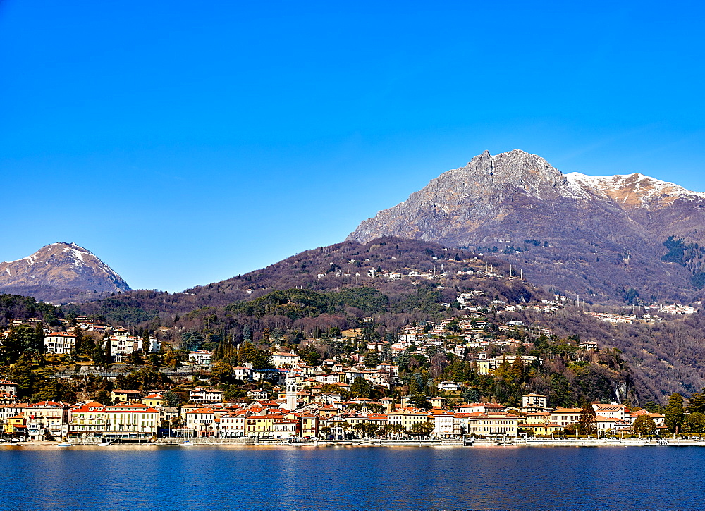 Menaggio on the western shore of Lake Como, Lombardy, Italian Lakes, Italy, Europe - 851-941
