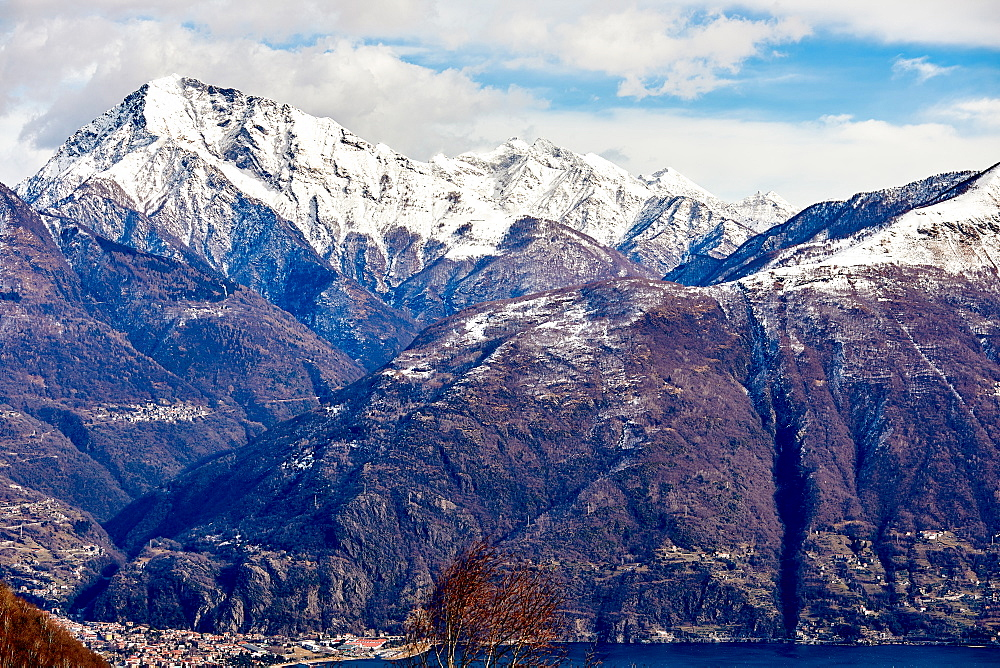 Monte Legnone mountain by Lake Como, Lombardy, Italian Lakes, Italy, Europe - 851-943