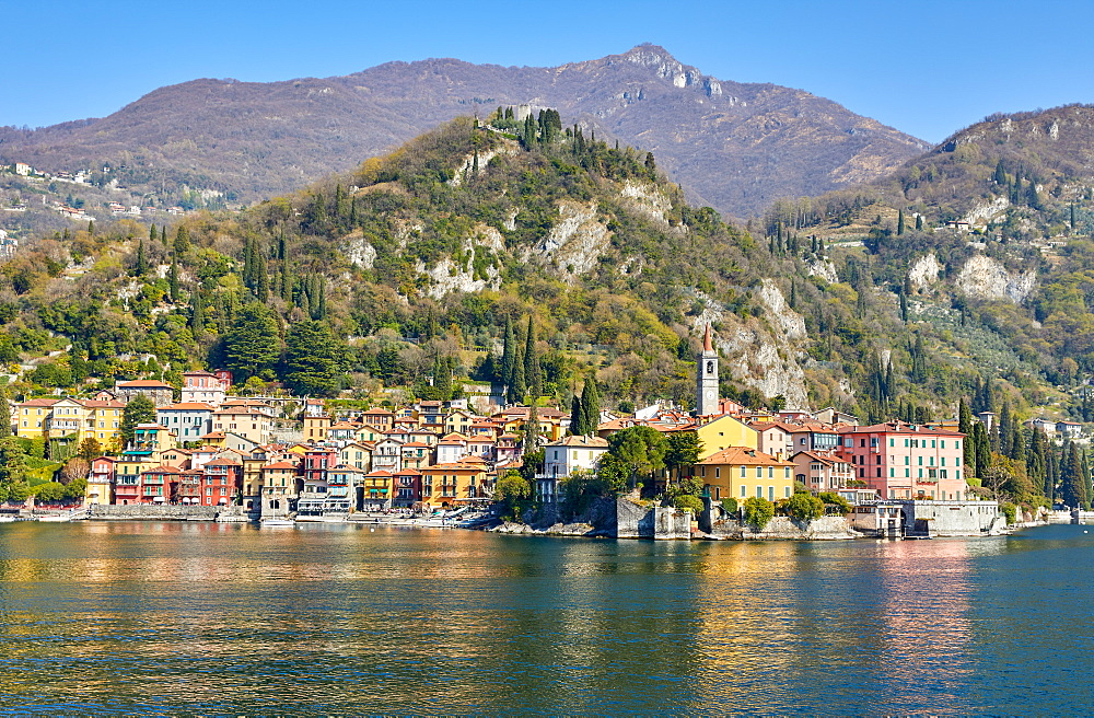 Town of Varenna on Lake Como, Lombardy, Italian Lakes, Italy, Europe - 851-947