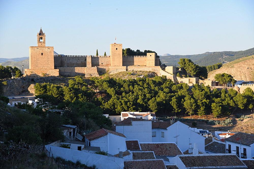 Alcazaba of Antequera, Malaga province, Andalusia, Spain, Europe