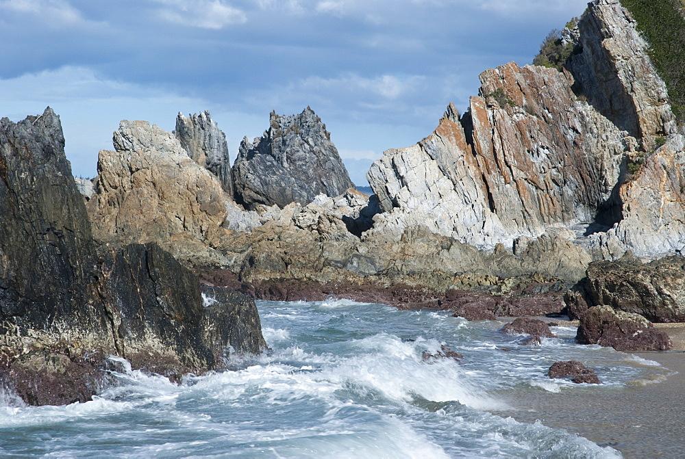 Rock formations, Camel Rock, Bermagui, New South Wales, Australia - 994-16