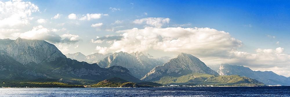 Tahtali, Taurus Mountains, Kemer, Antalya Province, Lycia, Anatolia, Mediterranean Sea, Turkey, Asia Minor, Eurasia - 1109-3454