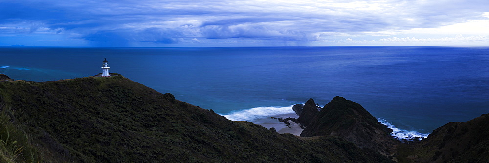 Cape Reinga Lighthouse (Te Rerenga Wairua Lighthouse), Aupouri Peninsula, Northland, New Zealand - 1109-3595