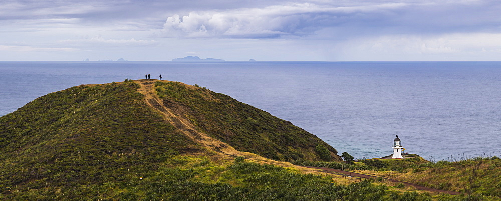 Cape Reinga Lighthouse (Te Rerenga Wairua Lighthouse), Aupouri Peninsula, Northland, New Zealand - 1109-3596