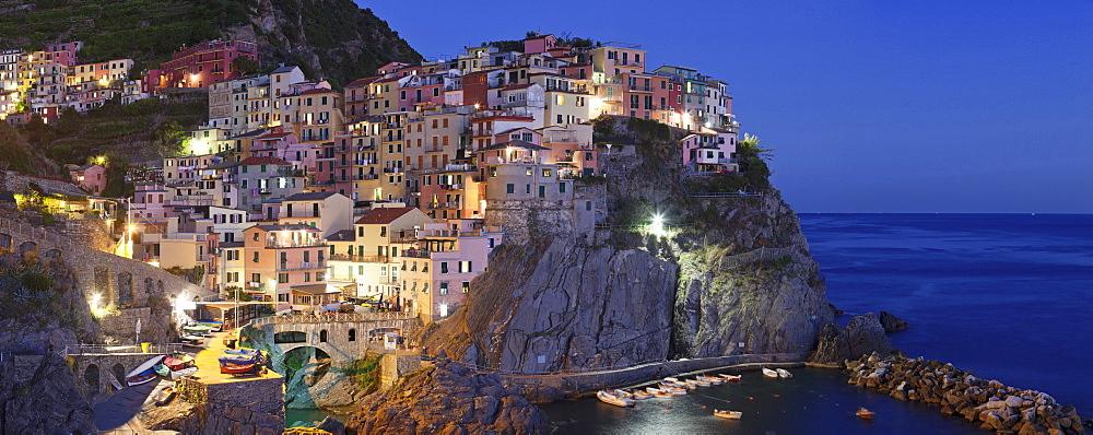 Manarola, Cinque Terre, UNESCO World Heritage Site, Rivera di Levante, Provinz La Spezia, Liguria, Italy, Europe - 1160-2286