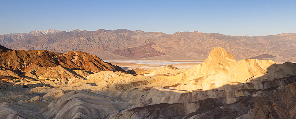 Zabriskie Point in Death Valley National Park, California, United States of America, North America - 1186-1147