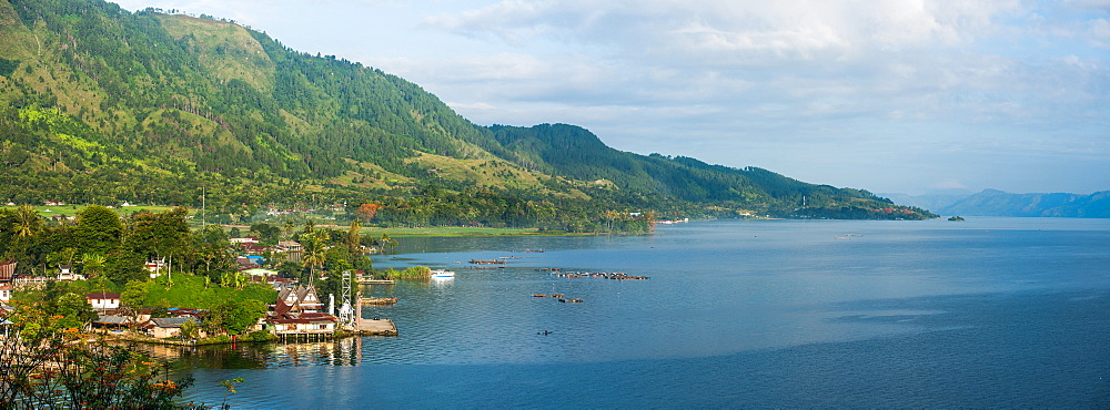 Lake Toba, Sumatra, Indonesia, Southeast Asia - 1199-403