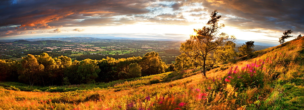 Malvern Hills, Malvern, Worcestershire, England, United Kingdom, Europe - 1199-586