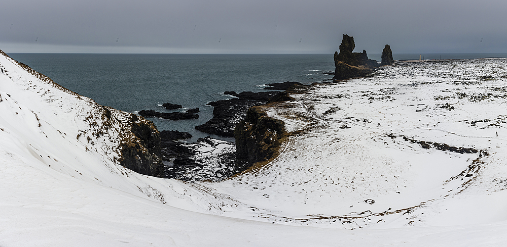 Londrangar, Snaefellsnes, Iceland, Polar Regions