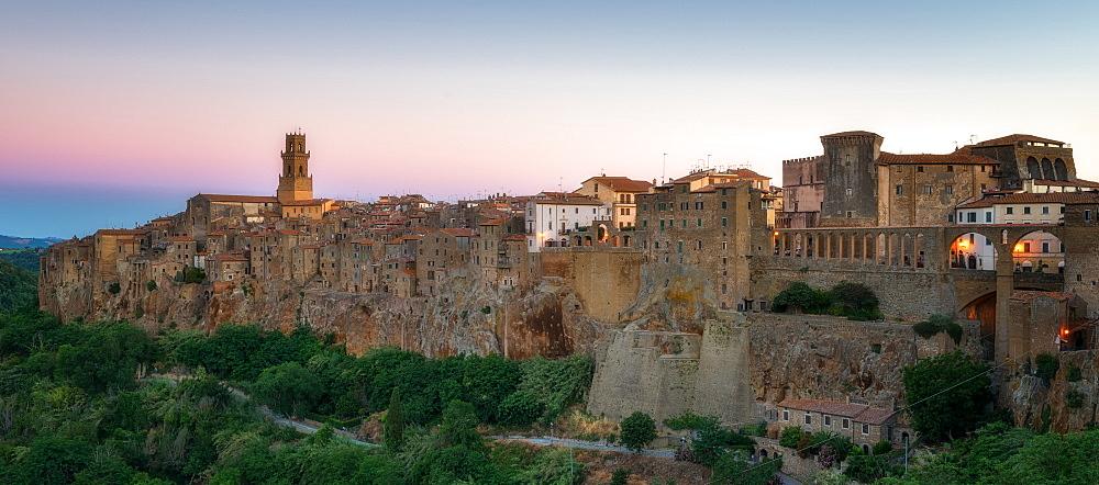 Pitigliano, Umbria, Italy, Europe - 1216-137