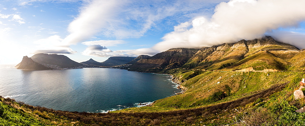 Chapman's Peak Drive and Hout Bay, Cape Peninsula, Western Cape, South Africa, Africa - 1263-57