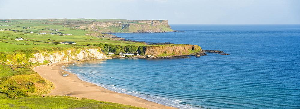 White Park Bay Beach, County Antrim Coast, Northern Ireland - 1272-130