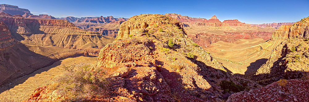 Grand Canyon view from western edge of Horseshoe Mesa, Grand Canyon National Park, UNESCO World Heritage Site, Arizona, United States of America, North America - 1311-177