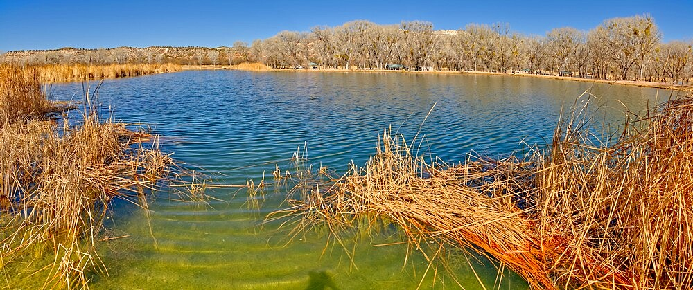 Middle Lagoon, one of three Lagoons at Dead Horse Ranch State Park, Arizona, United States of America, North America - 1311-302