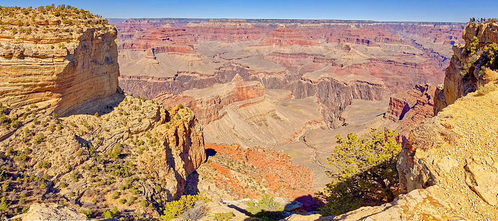 Grand Canyon Arizona viewed from the west side of Maricopa Point along the Hermit Road. - 1311-314