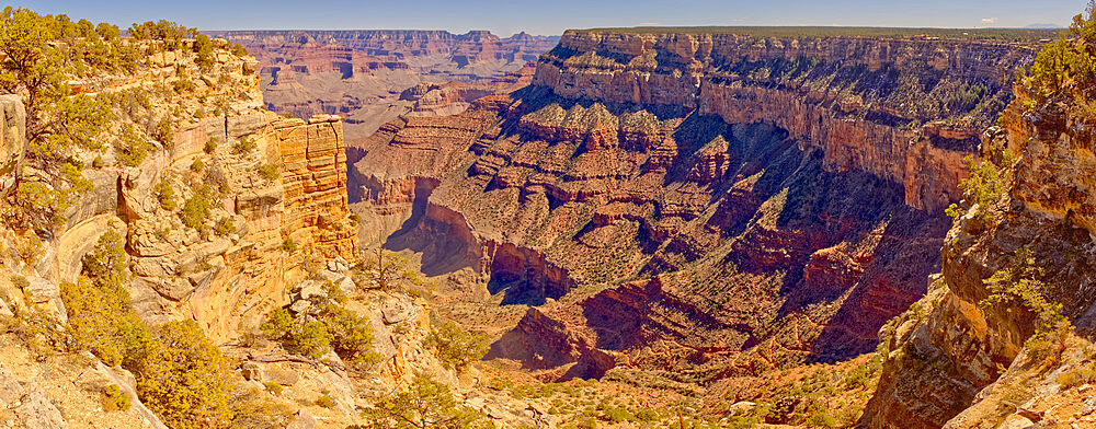 Grand Canyon Arizona viewed from the east side of Maricopa Point along the Hermit Road. - 1311-315