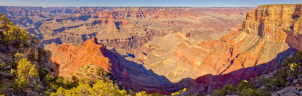 Grand Canyon Arizona viewed from the vista of Mohave Point along the Hermit Road. - 1311-316