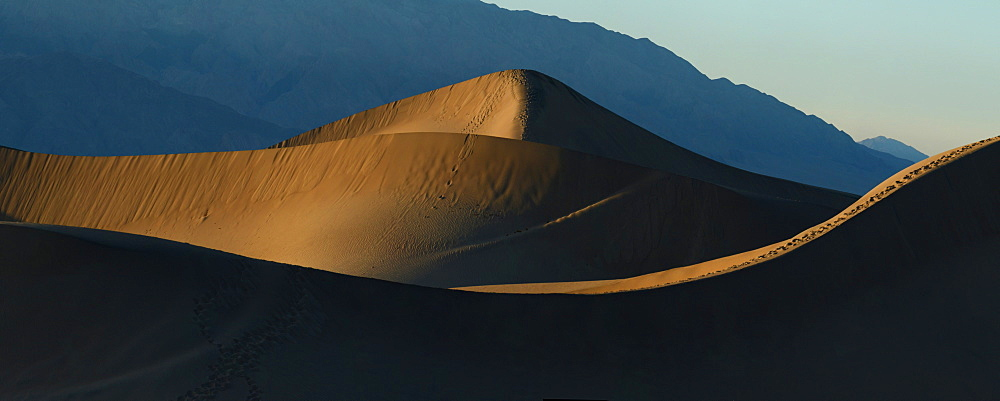 Mesquite Sand Dunes, Death Valley, California, United States of America, North America