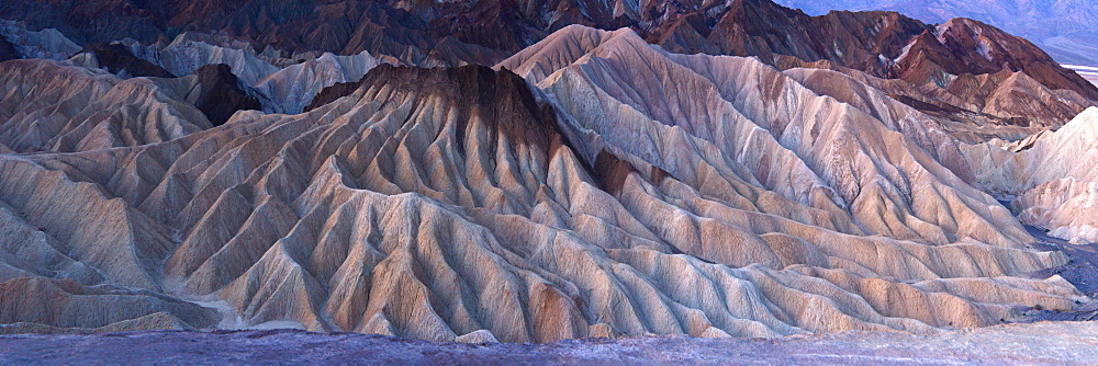 View from Zabriskie Point, Death Valley National Park, California, United States of America, North America