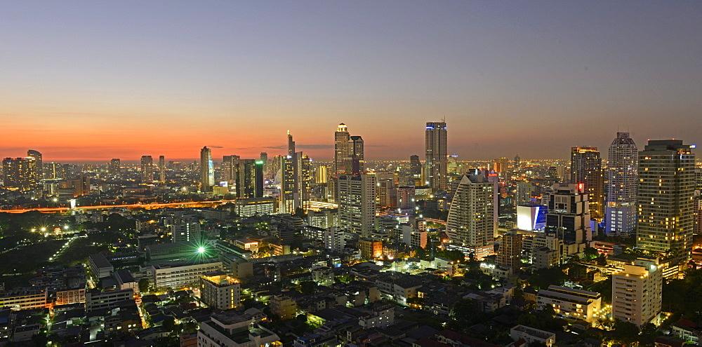 View of Bangkok, Thailand, Southeast Asia, Asia - 238-6454
