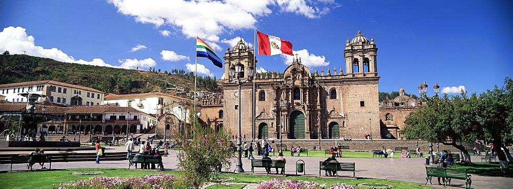 Christian cathedral, Cuzco (Cusco), UNESCO World Heritage Site, Peru, South America