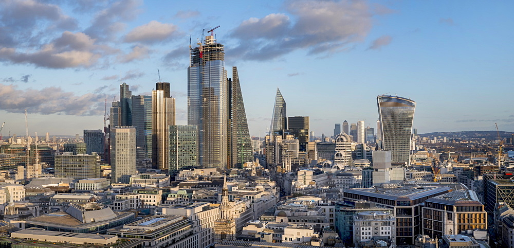 City of London panorama, London, England, United Kingdom, Europe - 367-6228