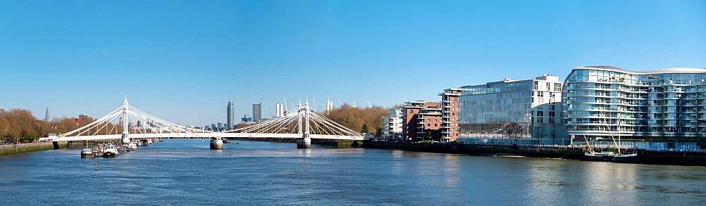 Battersea Bridge Panorama - 367-6326