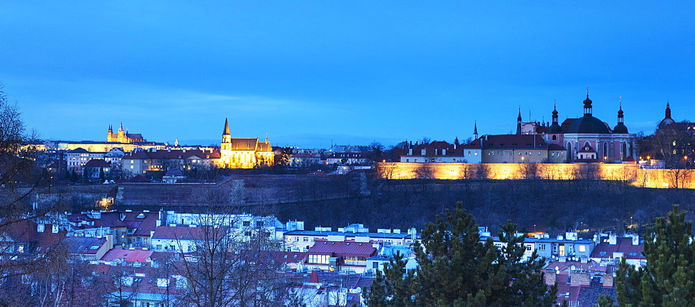 Vysehrad Bastion, Prague, Czech Republic, Europe