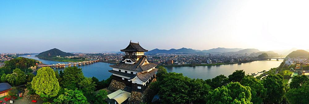 Japan, Honshu, Gifu prefecture, Inuyama castle