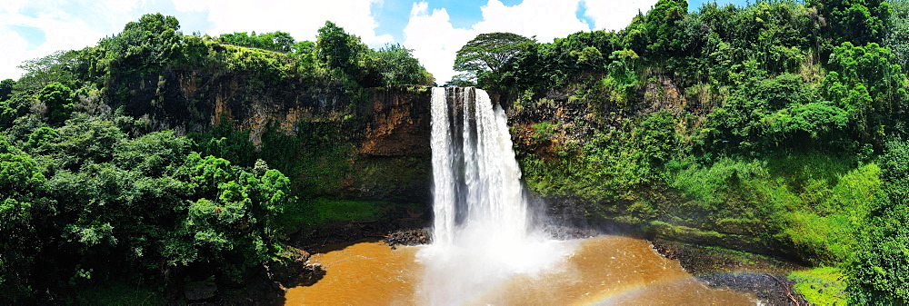 Wailua Falls, Kauai Island, Hawaii, United States of America, North America