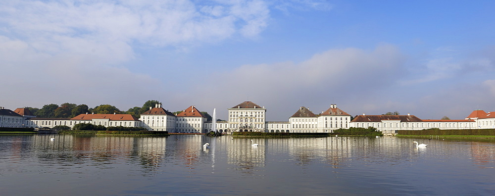 Schloss Nymphenburg, Munich, Bavaria (Bayern), Germany, Europe