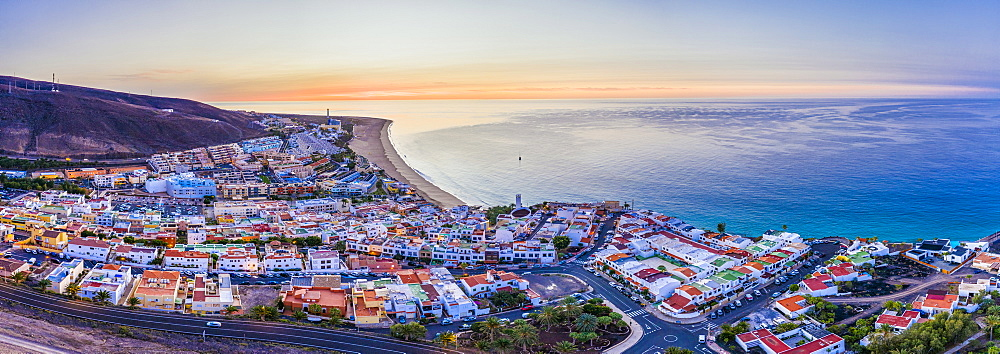 Spain, Canary Islands, Fuerteventura, Morro Jable and Playa del Matorral - 794-4803