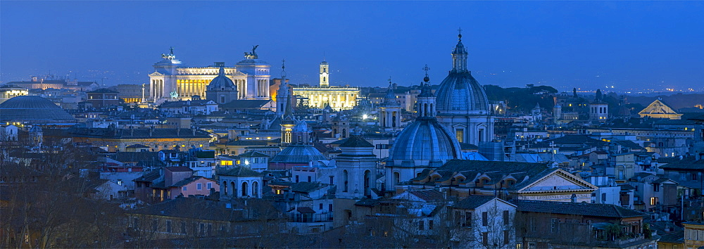 Skyline, Rome, Lazio, Italy, Europe