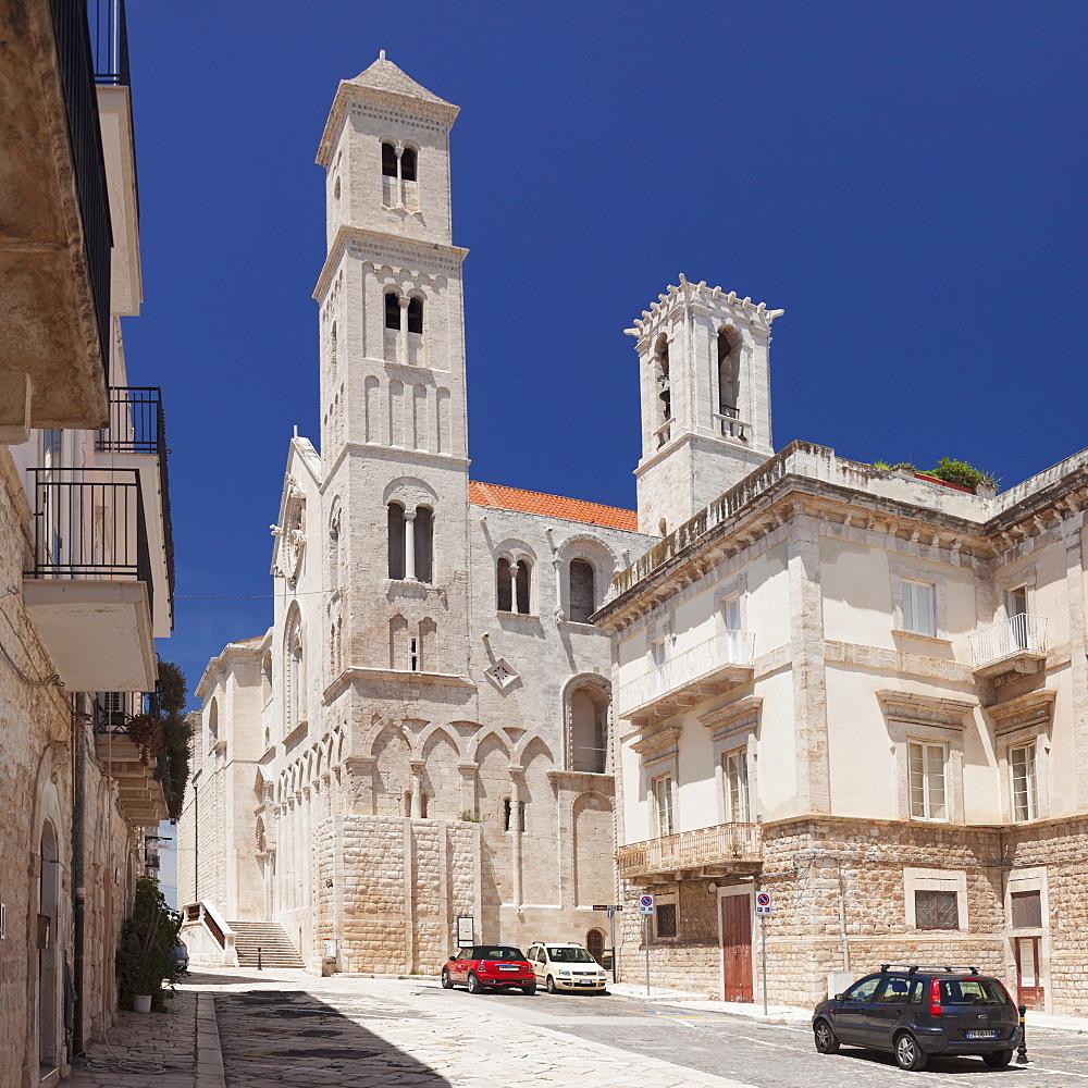 Cathedral, Giovinazzo, Bari district, Puglia, Italy, Europe