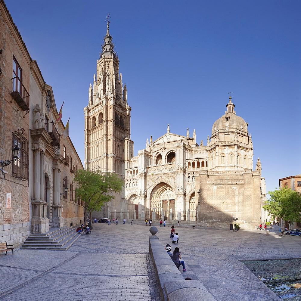 Santa Maria Cathedral, UNESCO World Heritage Site, Toledo, Castilla-La-Mancha, Spain