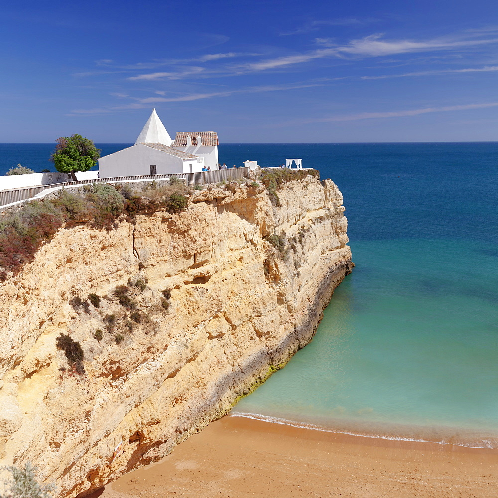 Nossa Senhora da Rocha Chapel, Armacao de Pera, Algarve, Portugal, Europe