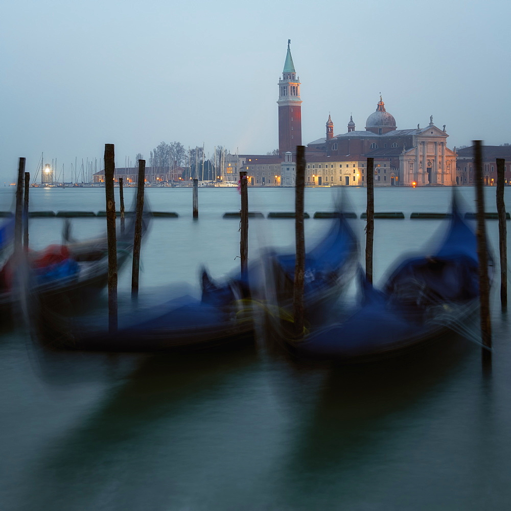 Gondolas of Venice, Italy. Europe - 1216-376