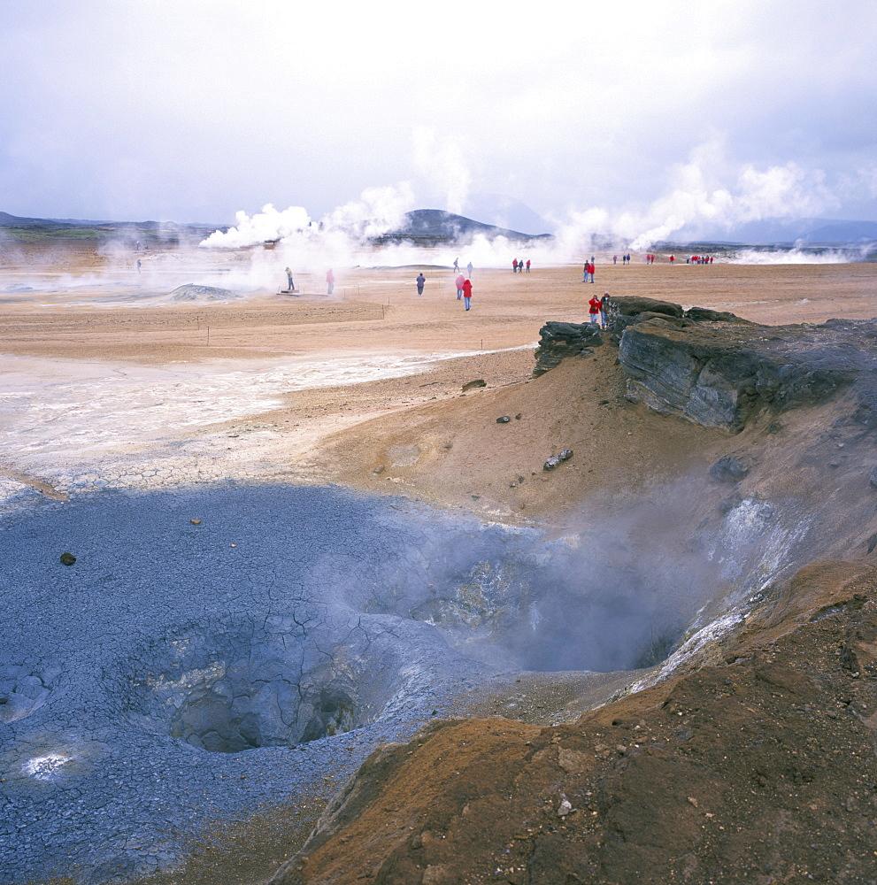 Namafjall geothermal area, north east, Iceland, Polar Regions - 197-5016