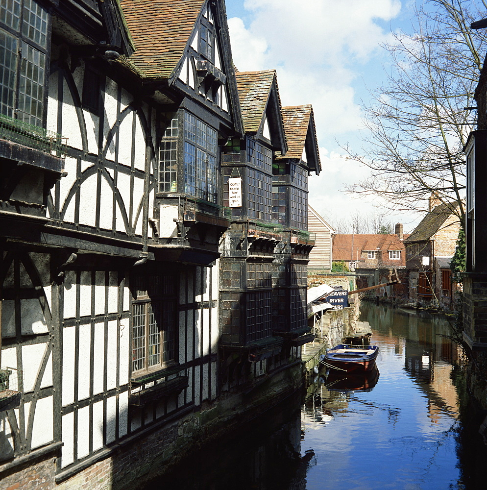 Old Weavers House, Canterbury, Kent, England, United Kingdom, Europe