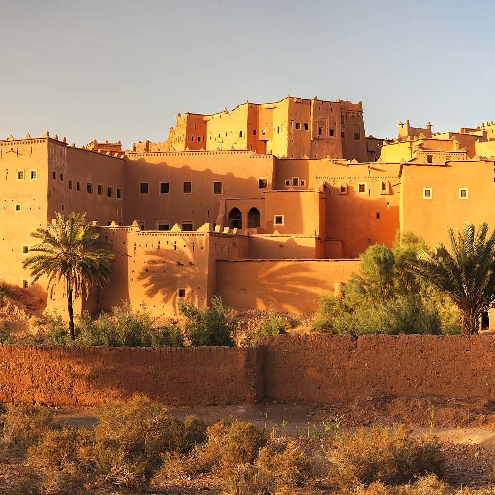 Kasbah Taourirt, Ouarzazate, Al-Magreb, Morocco, Africa