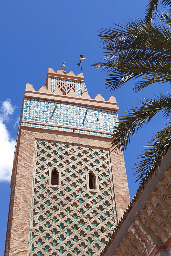 Kasbah Mosque, Marrakesh, Morocco, North Africa, Africa