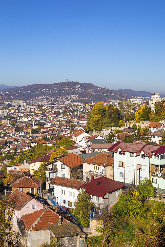 View of Sarajevo, Bosnia and Herzegovina, Europe - 1104-1003