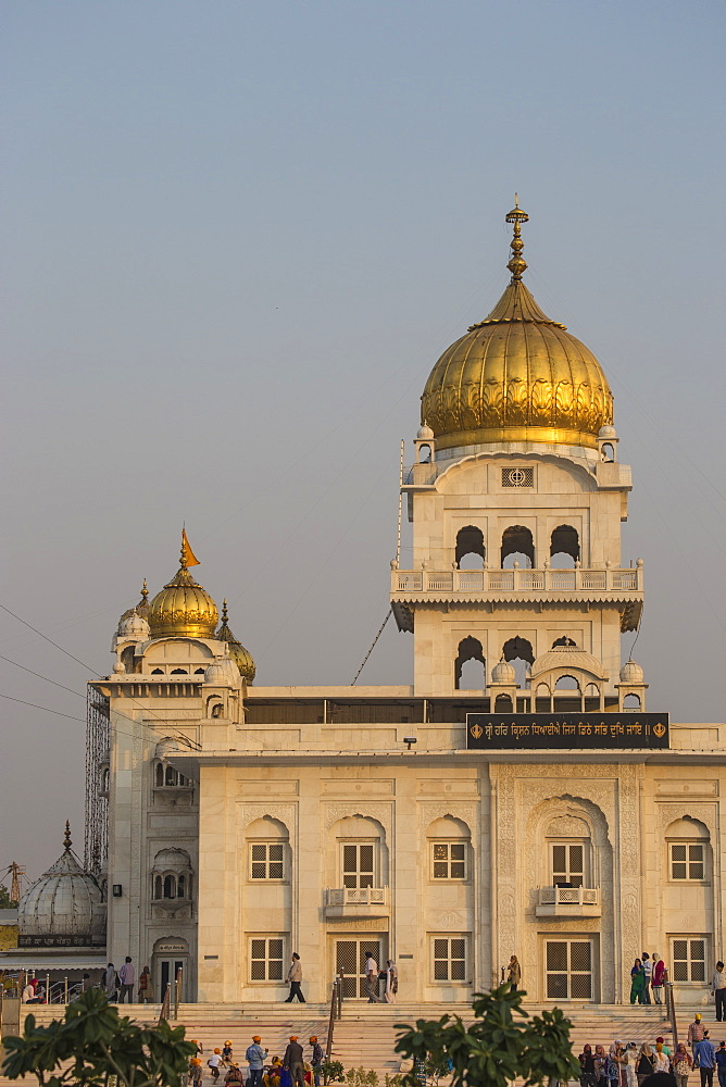 Gurdwara Bangla Sahib, a Sikh temple, New Delhi, Delhi, India, Asia - 1104-1042