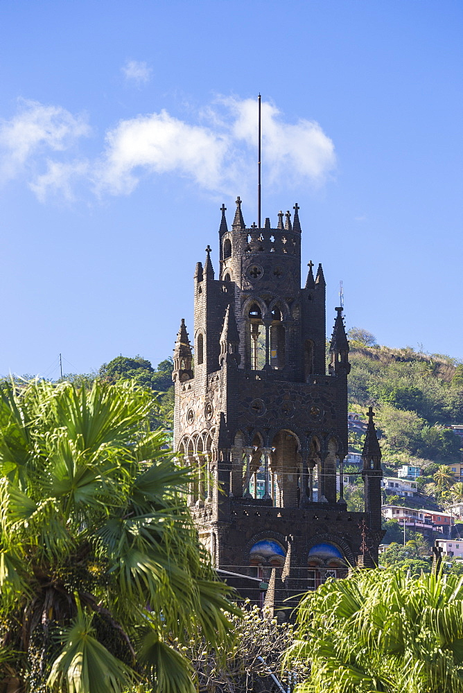 St. Mary's Cathedral, Kingstown, St. Vincent, St. Vincent and The Grenadines, West Indies, Caribbean, Central America