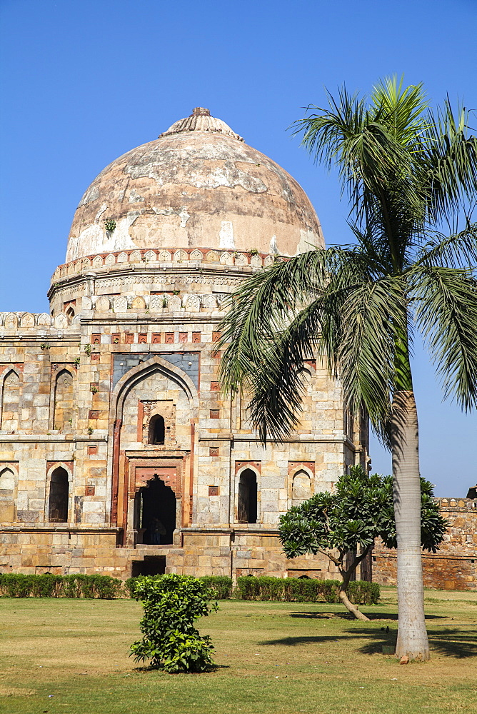 India, Delhi, new Delhi, Lodi Garden, Bada - Bara Gumbad Tomb