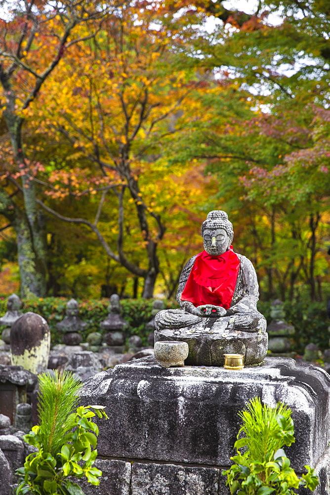 Japan, Kyoto, Arashiyama, Adashino Nenbutsu-Ji Temple - 1104-1304