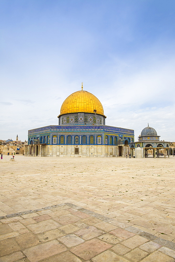 Dome of the Rock, Temple Mount, Old City, UNESCO World Heritage Site, Jerusalem, Israel, Middle East - 1104-1313