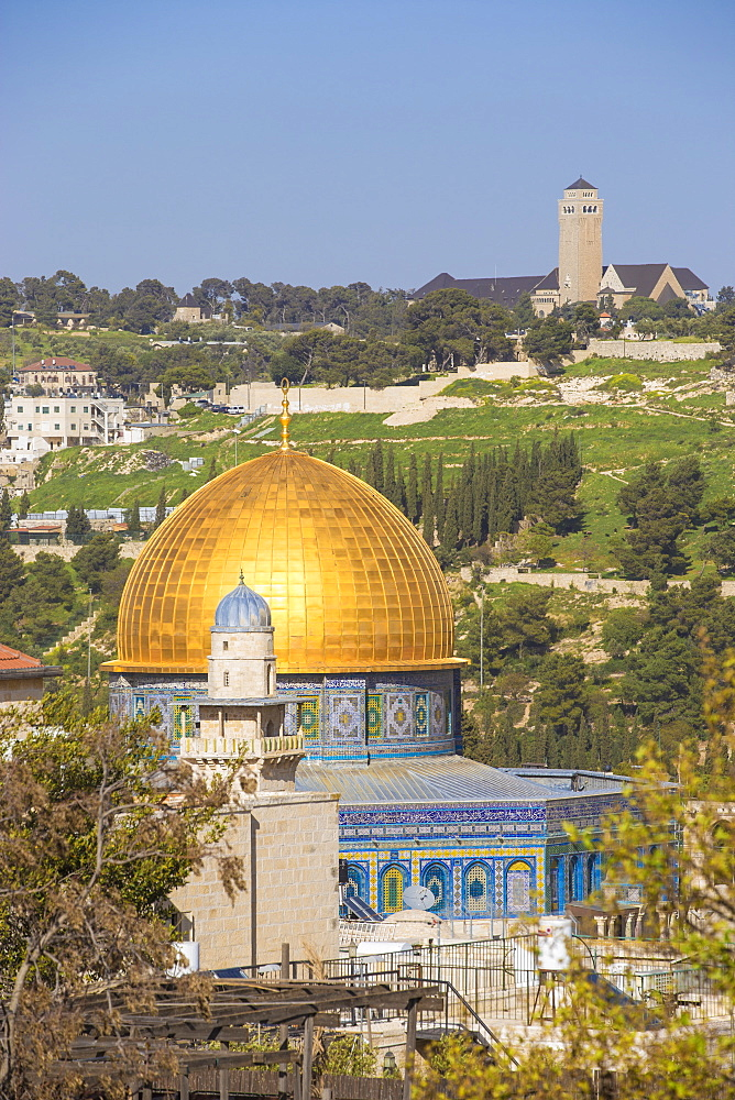 Dome of the Rock, Old City, UNESCO World Heritage Site, Jerusalem, Israel, Middle East - 1104-1319